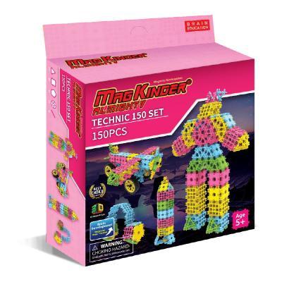 맥킨더 블럭 올마이티 테크닉 핑크 27 150pcs