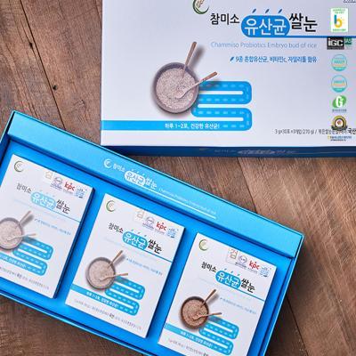 하루 한포 장을 위한 쌀눈 유산균 단품 3g x 30포
