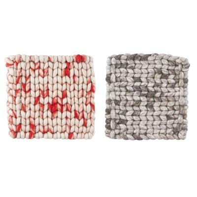 [House Doctor]Trivets Wooly 2Colors 냄비받침