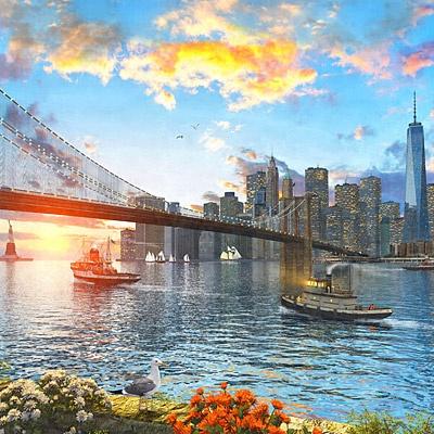 1000조각 직소퍼즐▶ 브룩클린 다리 (CA1133A)