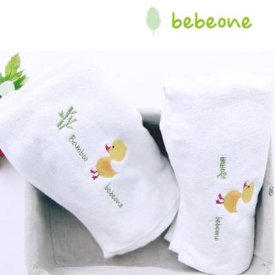 [베베원] 아기타올   순면 + 밤부 목욕타올 세트