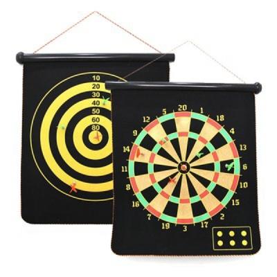 다트 (45*53) 안전한 벽걸이형 양면 자석 다트판 게임