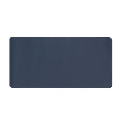 파스텔 휴대용 가죽 데스크 매트(블루)/ 데스크패드