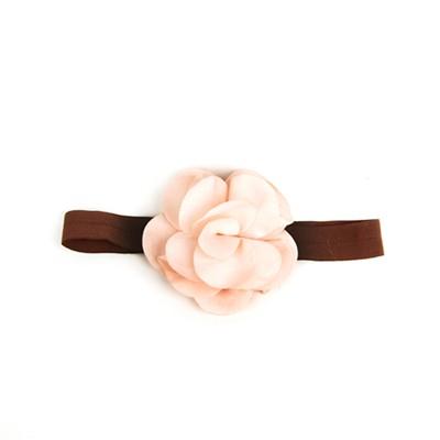 [헤어보우]Lovely Flower 베이비밴드-Lt.Pink