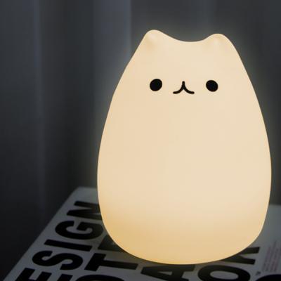 말랑 고양이 LED 터치 무드램프 조명