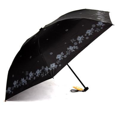 [더로라] 일본 직수입 5단 양우산- 초초경량 양산 블랙모노 E822