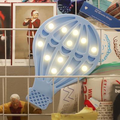 LED 앵두전구 조명등 (열기구 블루)