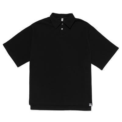 CB 오버핏 PK티셔츠 (블랙)