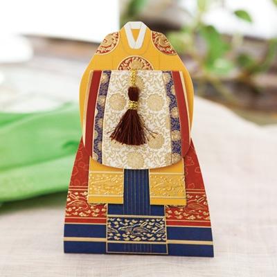 궁중혼례복카드(왕비) FT303-4
