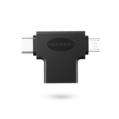 벤션 2in1 C타입 USB3.0 고속 OTG 젠더/5핀 겸용 CDI