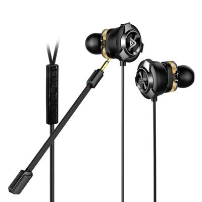 사운드판다 탈착식 마이크 게이밍 이어폰 SPE-G9