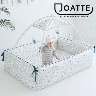 아기 플라워 베이직 범퍼침대 기본형 매트 가드