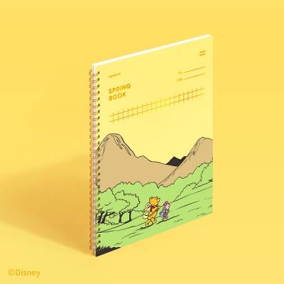 [디즈니] 스프링북 스퀘어드 - 곰돌이 푸 허니옐로우