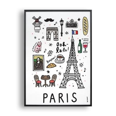Paris doodle