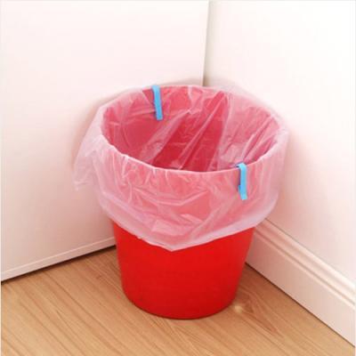 (와인앤쿡)쓰레기봉투 L집게 6개 1세트(색상랜덤)