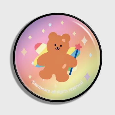 Angel bear-pink/yellow(earptoktok)
