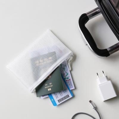 단순생활 EVA 메쉬파우치 화이트 B6