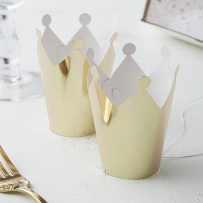 골드 미니 파티 크라운 5개 Gold Mini Party Crown