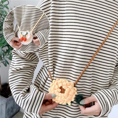 에어팟 1/2/프로 오리 기린 뜨개질 목걸이줄 케이스