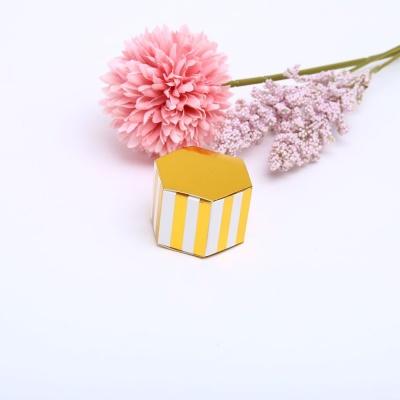 스프라이드 골드육각상자 미니 선물 포장 케이스 박스