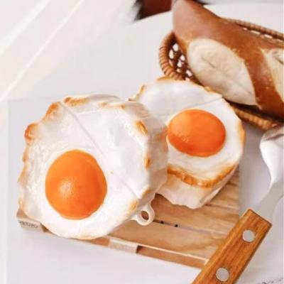 에어팟1/2/3세대 프로 달걀후라이 특이한 입체 케이스