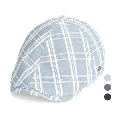 [디꾸보]린넨 스콜트랜드 헌팅캡 똑딱이 모자 JAN360