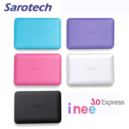 새로텍 휴대용 외장하드 i nee 3.0 / 2TB SATA HDD (USB3.0 and USB2.0 지원 / SF특수코팅 / 고광택 / LED)