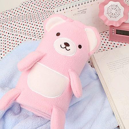 쿠마짱 블랑켓 - Small Pink