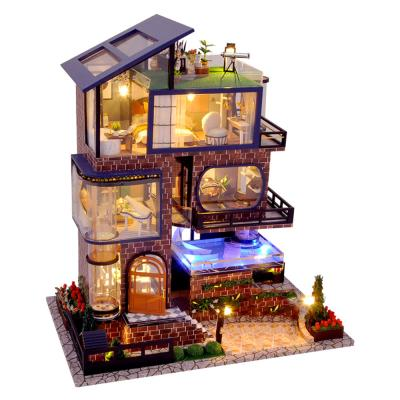 DIY 미니어처 풀하우스 - 맨하튼