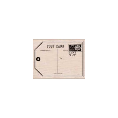 우드스탬프 - big post card