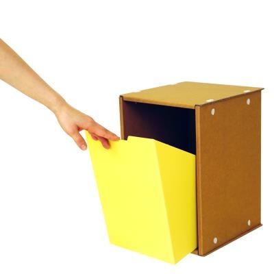 (1+1) 모던 책장 1형 원터치 서랍 박스 DRAWER