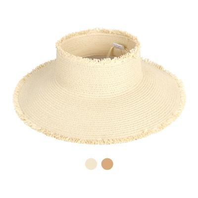 [디꾸보]내츄럴 풀림 챙 썬캡 모자 DCH-AC544