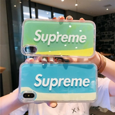 아이폰11 pro max/sup 로고 네온 샌드 글리터 케이스