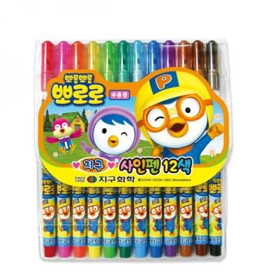 12색 뽀로로 사인펜