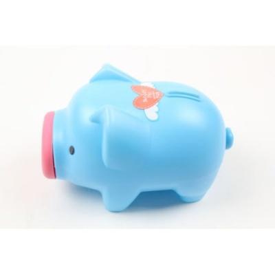 팬시 청색 돼지저금통 특대 저금통 동전통 동전모으기
