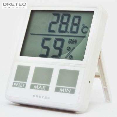 드렉텍 디지털 온습도계 O-214WT