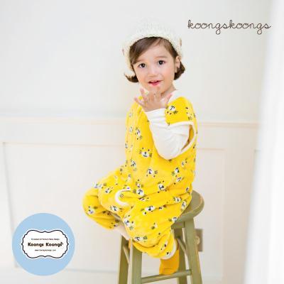 [극세사]아이즈 극세사수면조끼 유아수면조끼 아동수면조끼