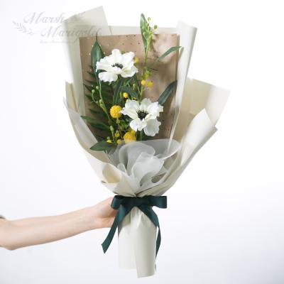 [마쉬매리골드]러블리 아네모네 꽃다발 [2컬러]