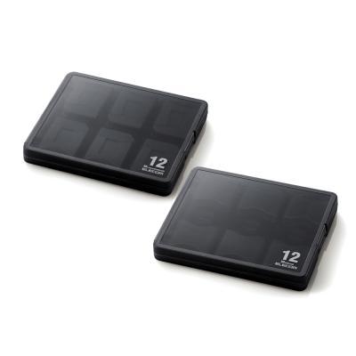 엘레컴 SD & micro SD 카드 케이스 12EA