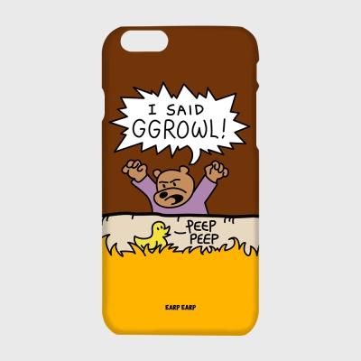[어프어프] 하드/터프/슬라이드 Ggrowl-brown
