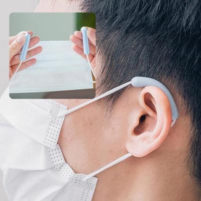 귀 보호 마스크 고정 실리콘 고리 세트 귀통증 감소