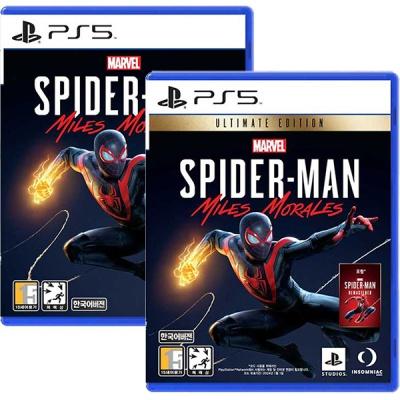 PS5 스파이더맨 마일즈 모랄레스 PS5 얼티밋에디션
