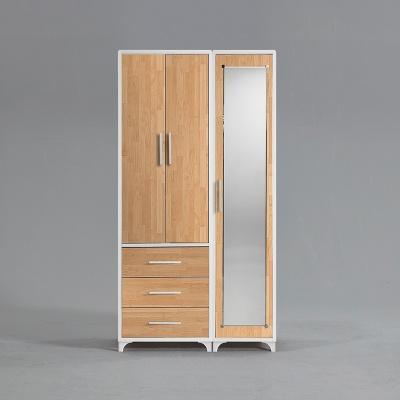 모렌 3서랍 선반 장롱세트 거울도어형 1000 (착불)