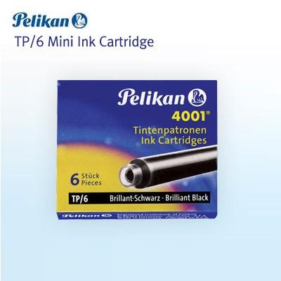 펠리칸 4001 TP/6  미니카트리지 (6입)