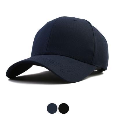 [디꾸보]큰모자 심플 무지 하드 볼캡 모자 DCH-HN341