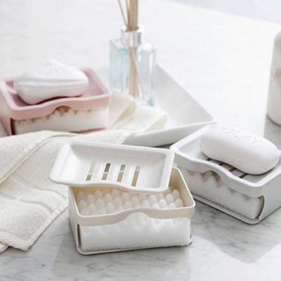 모던 스펀지 물받침 비누거치대 1개(색상랜덤)
