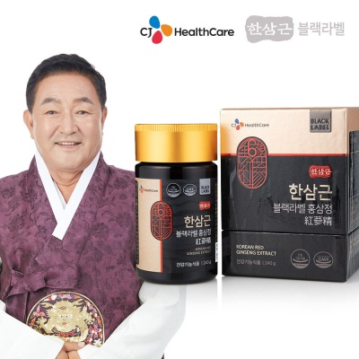 CJ헬스케어 한삼근 블랙라벨 홍삼정 (+쇼핑백)
