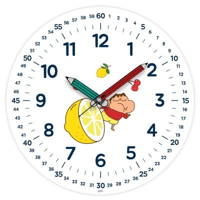 짱구는 못말려 레몬 교육용 벽시계