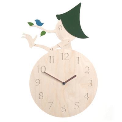 [하이모리] 타임데코 피노키오 벽시계 [핸드메이드/월클락/인테리어소품/자작나무]