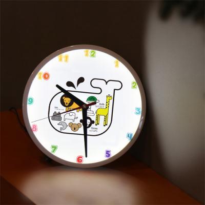 nf219-LED시계액자25R_상상동물원